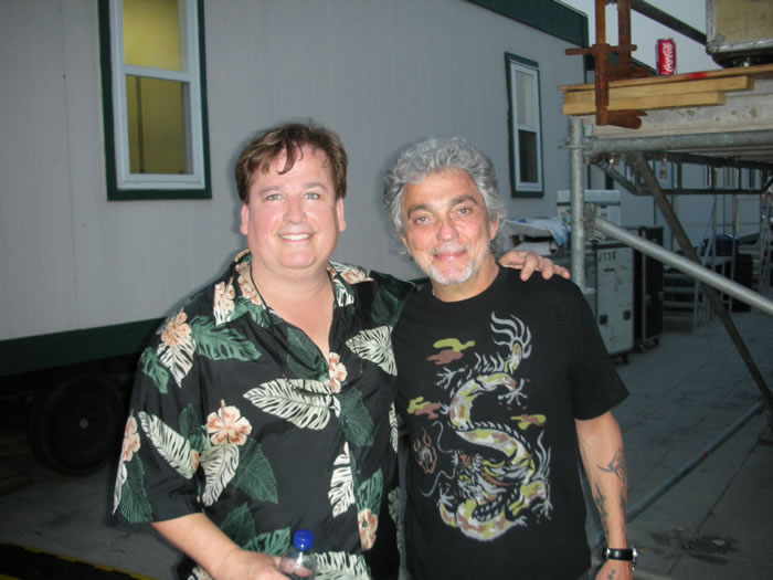 Playing a show with the 'one and only' Steve Gadd